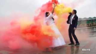 видео Дым для свадебной фотосессии