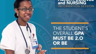 Health Science and Nursing Information Session