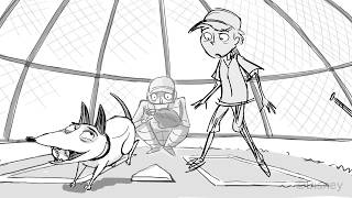 Frankenweenie -  Sparky is killed chasing the ball