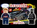 Lego Super Heroes A LA CAZA DE PANTERA NEGRA 76047 Capitan America Civil War Review y Unboxing