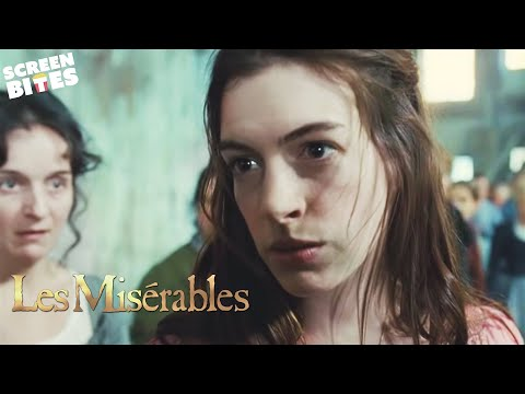 Les Misérables - Anne Hathaway At The End of the Day OFFICIAL HD VIDEO
