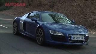 Audi R8 V10 vs Audi TT RS - autocar.co.uk