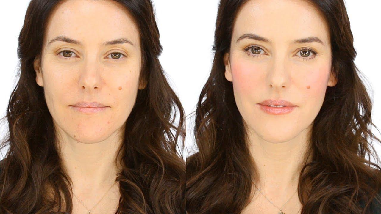 Minimal Makeup Tutorial - Rosy Flush