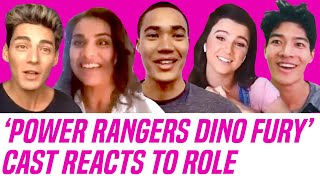 Power Rangers Dino Fury Cast Reveals Reactions to Booking Role
