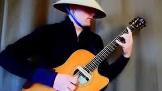 Нереальная игра на гитаре ютуб