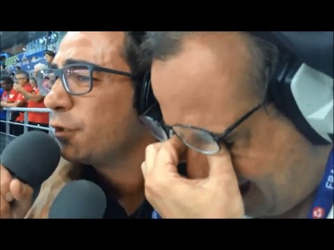Portugal vs France 1-0 Nuno Matos & Alexandre Afonso [Rádio Antena 1]