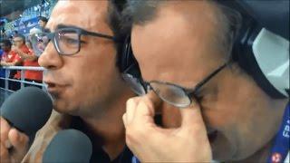 Portugal vs France 1-0 Nuno Matos & Alexandre Afonso [Rádio Antena 1]