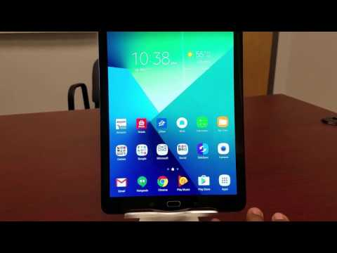 Galaxy Tab S2 9.7 with Nougat!