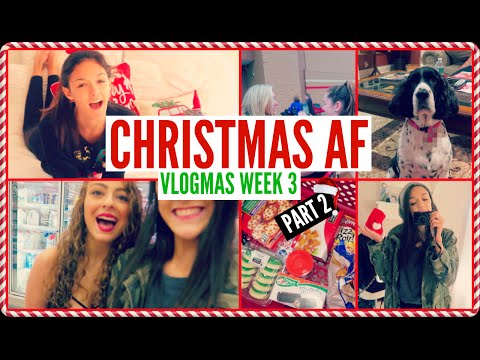 VLOGMAS WEEK 3 PART 2!! || CHRISTMAS TRADITIONS/DYING IN TARGET!!