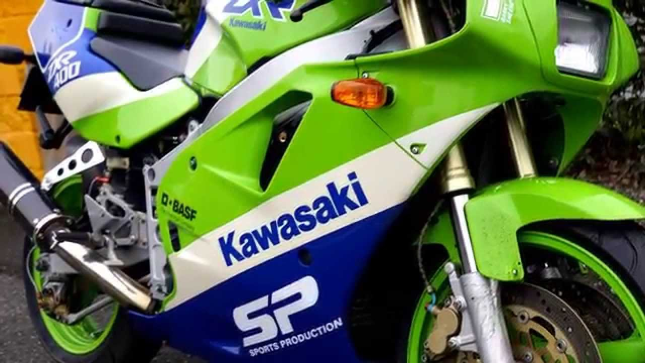 Kawasaki ZXR 400 RESTYLING Year 1990 PART 2
