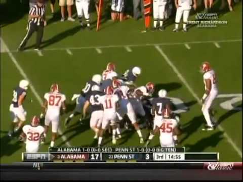 2011 Alabama Crimson Tide vs Penn State Nittany Lions