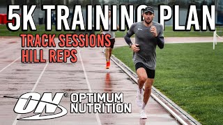 Training for a 5K PB | Track Tuesday | Hill Reps