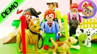 PLAYMOBIL JULIAN BEZOEKT HONDENSCHOOL! Met Hondentrainer, Herdershond En Puppy's! Speel Met Mij
