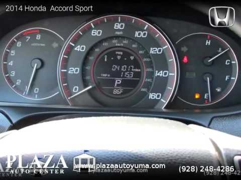 2014 Honda  Accord Sport - Plaza Auto Center
