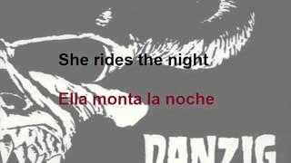Danzig - She Rides (Subtitulada Ingles - Español)