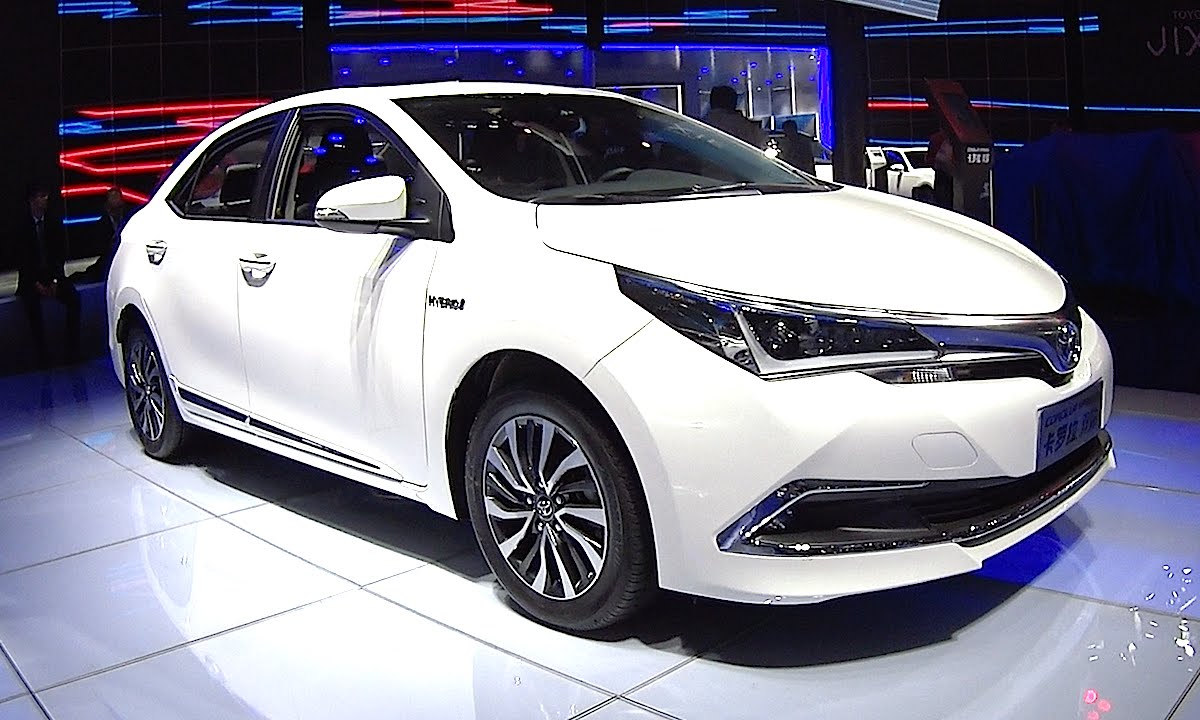 2016 2017 Toyota Corolla Hybrid S Fully Redesign World Premiere You