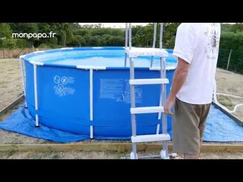 Installation d 39 une piscine hors terre aboveground poo for Club piscine pool pump