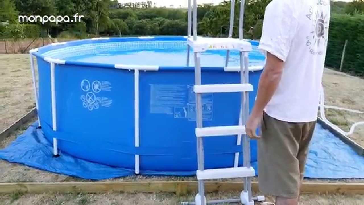 montage d une piscine tubulaire intex