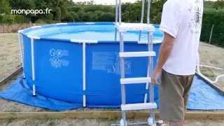 Montage d'une piscine tubulaire Intex