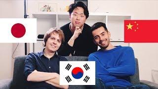 Корея, Япония, Китай | В чем различия? Дмитрий Шамов, Касе Гасанов и Костя Пак