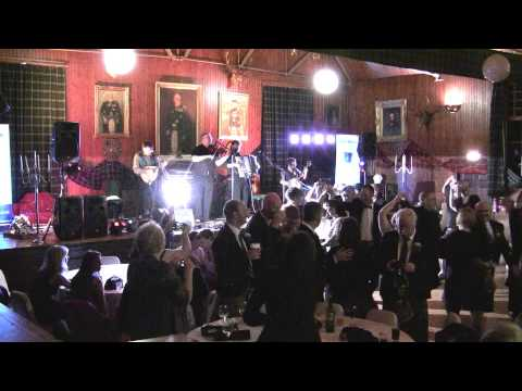 Scottish Ceilidh Band Iron Broo from Aberdeen play a Gay Gordons.mov