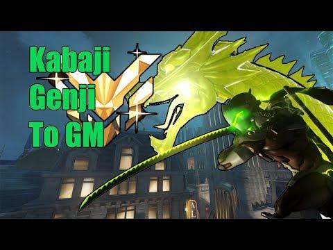 Genji Gameplay - Kabaji Pro Genji Road To Gm - Pro Overwatch Season  15 thumbnail