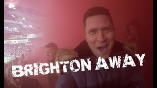 Vlog 033 - Palace v Brighton (Police, Smoke Bombs & No Goals)