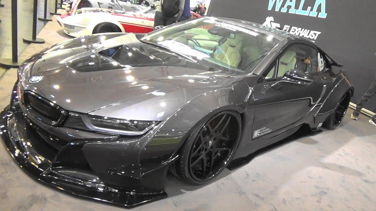 Bmw I8 Liberty Walk Essen Motor Show 2018 Youtube