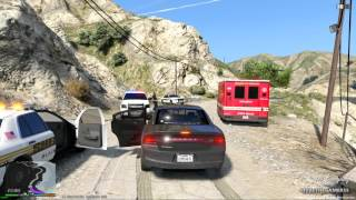 GTA 5 LSPDFR EP #30 - FBI/FIB PATROL UNMARKED CHARGER - FAILS
