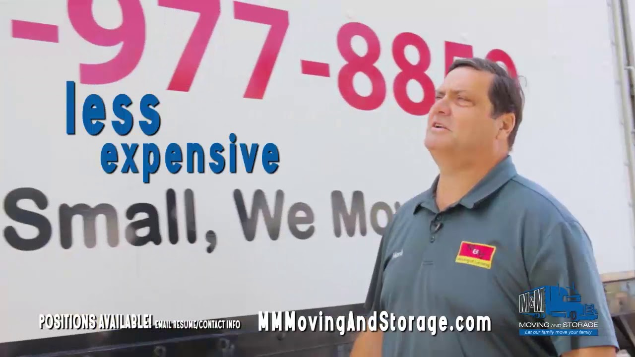 M & M Moving and Storage Commercial