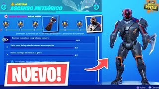 NEW CHALLENGES *METEORIC ELEVATOR* in FORTNITE!! (SKIN SCIENTIFIC)