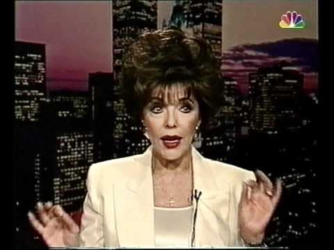 Joan Collins on Selina Scott Show 1997