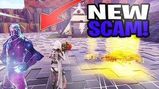 *NEW SCAM* The Galaxy Skin Scam! (Scammer Gets Scammed) Fortnite Save The World