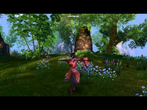 Gameplay shaolin Age of wulin