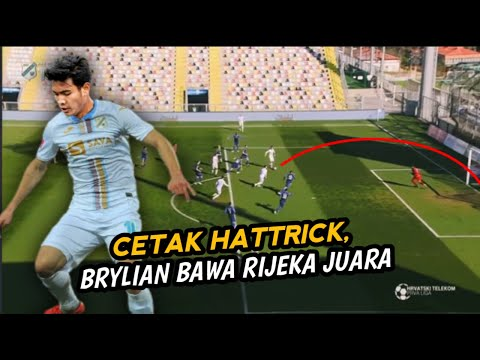 BRYLIAN ALDAMA Bawa Rijeka U-19 Juara Liga Di Kroasia