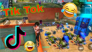 Free fire best tik tok video with funny moments 😂#freefire