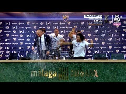 Rueda de prensa post partido | Zidane | Málaga 0-2 Real Madrid | Campeón de Liga 33