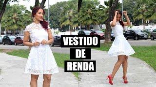 VESTIDO FESTA DE RENDA- ESPECIAL FIM DE ANO