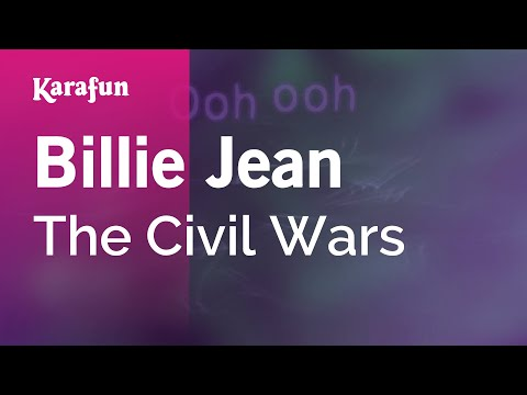 Karaoke Billie Jean - The Civil Wars *