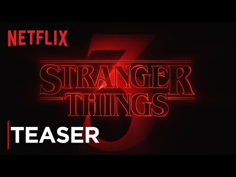 Josh -  Stranger Things Teasing Season 3 Titles