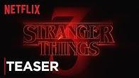 Stranger Things: Season 3 | Title Tease [HD] | Netflix