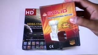 Solid Hds2 1740 L Full HD Setup Box L Unboxing L Hindi