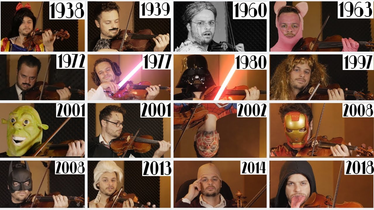 Evolution of Film Music - 60 Movies | 1938-2018