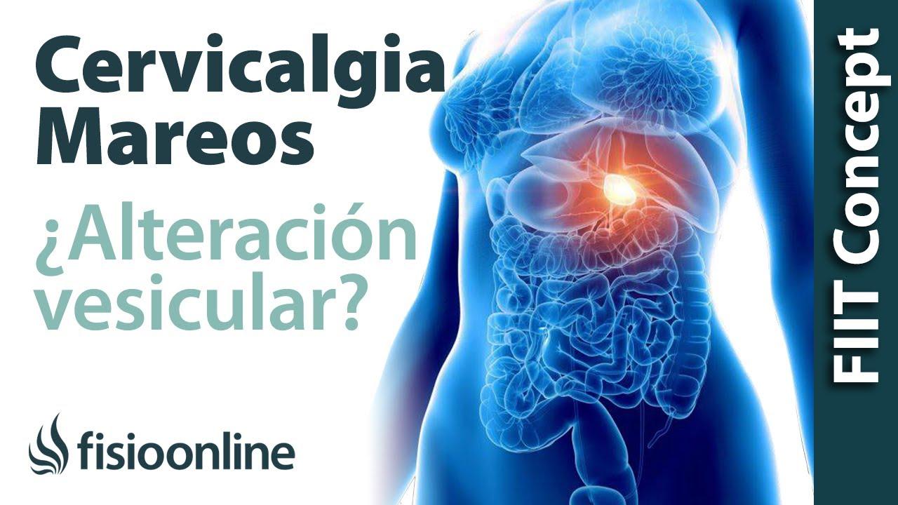 b04d7f0a4f8 Tratamiento para dolor cervical con mareos provocado por una alteración de  la vesícula biliar
