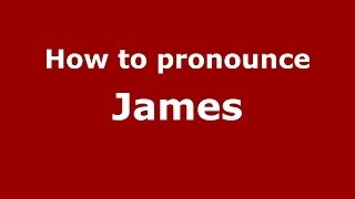 How to pronounce James (French) - PronounceNames.com