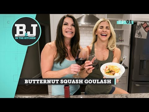 Brooke and Jeanna In The Kitchen - Butternut Squash Goulash