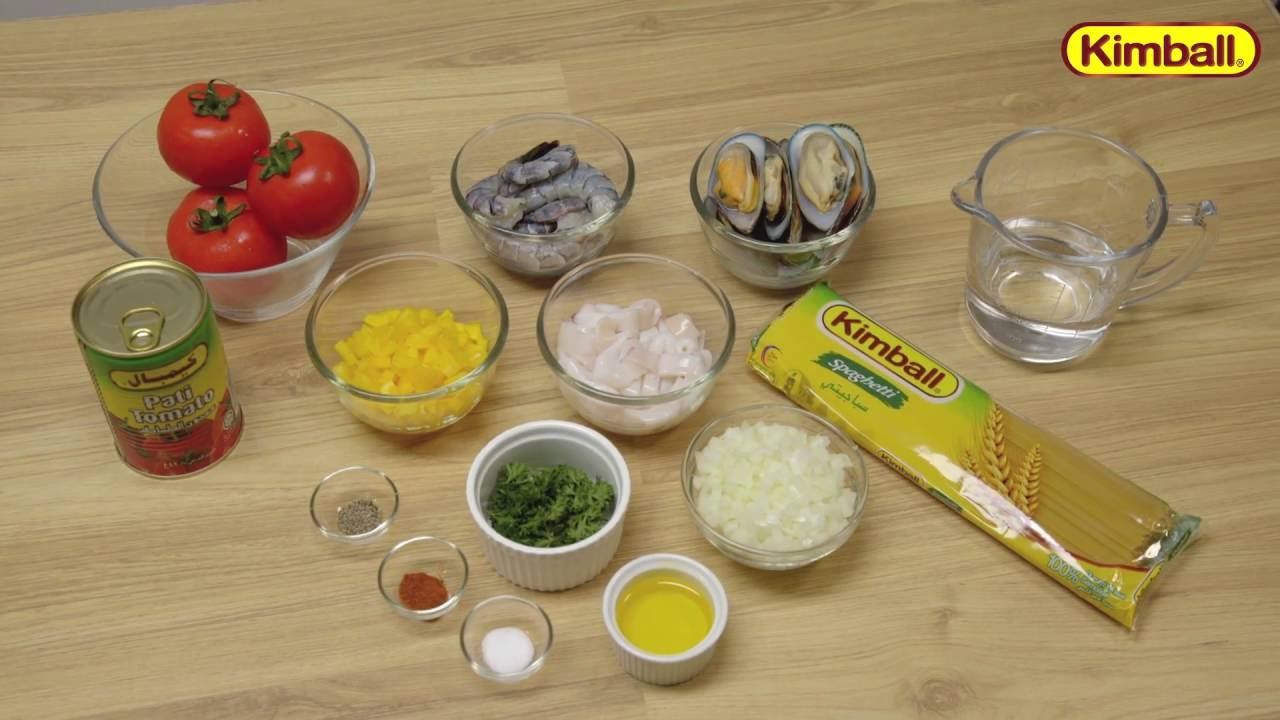 Kimball Recipe Pasta Makanan Laut Berkuah Youtube