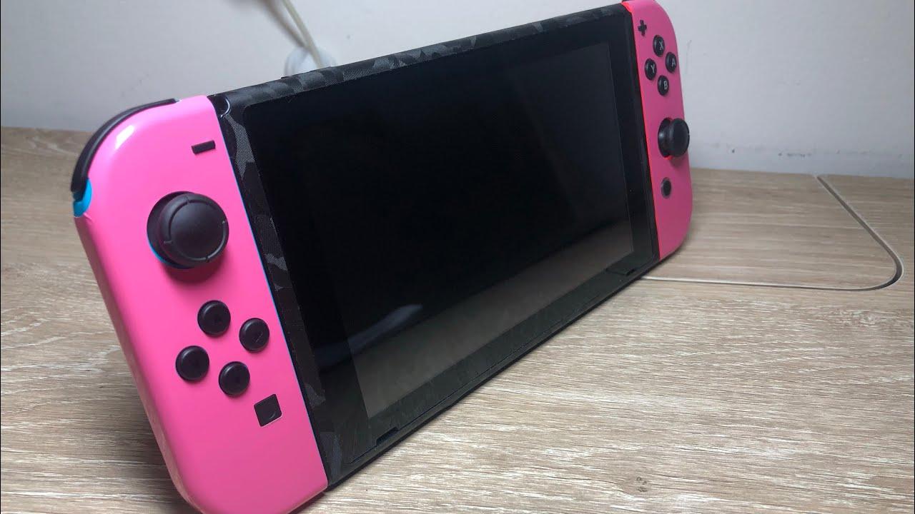Nintendo Switch Dbrand Skin Showcase Youtube