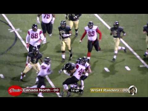 WGH Football vs. Clarkson North (Canada) - 10/27/17