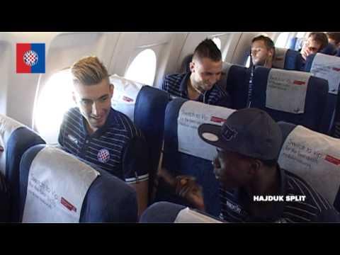 Hajduk stigao u Skopje